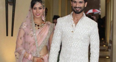 Shahid Kapoor ties knots with 21yr old Mira Rajput