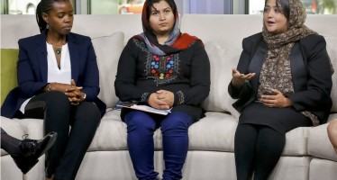 Afghan female entrepreneurs in the US for mentoring