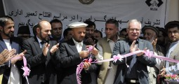 Department of Urban Development in Feyzabad receives new administrative building