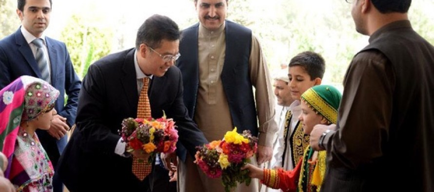 Chinese ambassador meets with businessmen in kandahar wadsam for Ambassador chinese cuisine