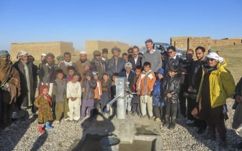 IDP families in Balkh find access to potable water