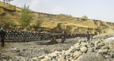 Eight disaster prevention projects started in Badakhshan