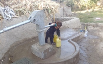 Over 2000 families in Uruzgan benefit from development projects