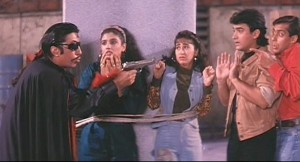 Andaz Apna Apna is most funny movie tanked at the box office! But with some superb performances, especially from Salman Khan and Aamir Khan, the movie has achieved a cult status among the youth of the country.
