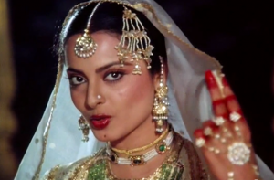 Umrao Jaan is the Rekha's perfect movie with proper heartfelt love line story and heartbreaking end. Sadly the film couldn't acquire much at the box office. Yet, it won four national awards, and now is a must watch Bollywood movie.