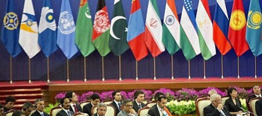 SCO plays a major role in regional stability