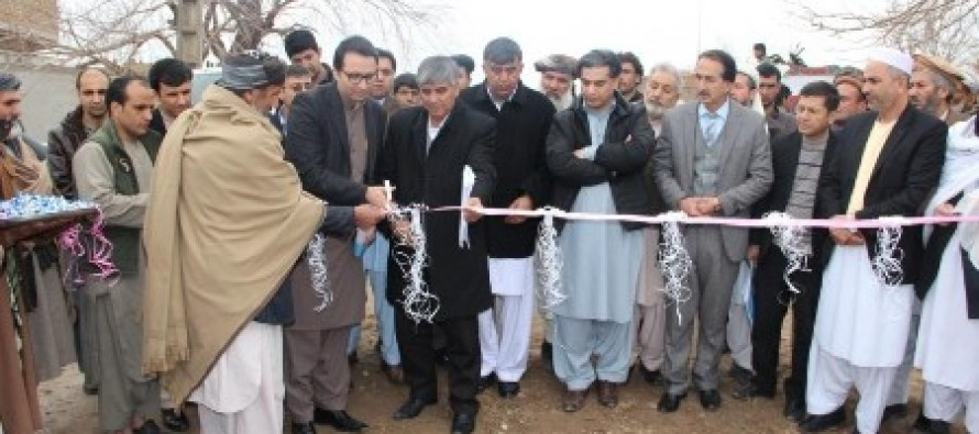 Maintenance Cash Grant Project kicks off in Herat