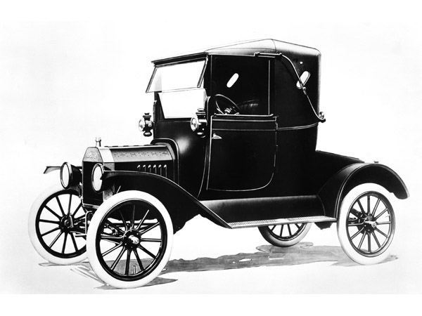 4. Henry ford produced the model T only in black because the black paint available at the time was the fastest to dry.