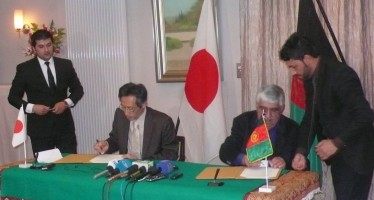 Japan, Afghanistan sign accord on development projects in Nangarhar province