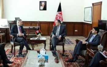 Afghan Finance Minister meets EU special envoy