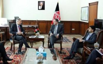 Afghan Finance Minister meets EU special envoy
