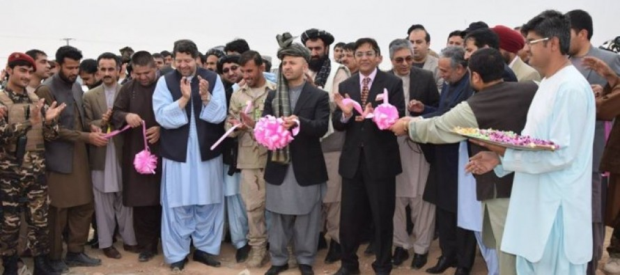 Construction work of Kandahar's cricket stadium kicks off