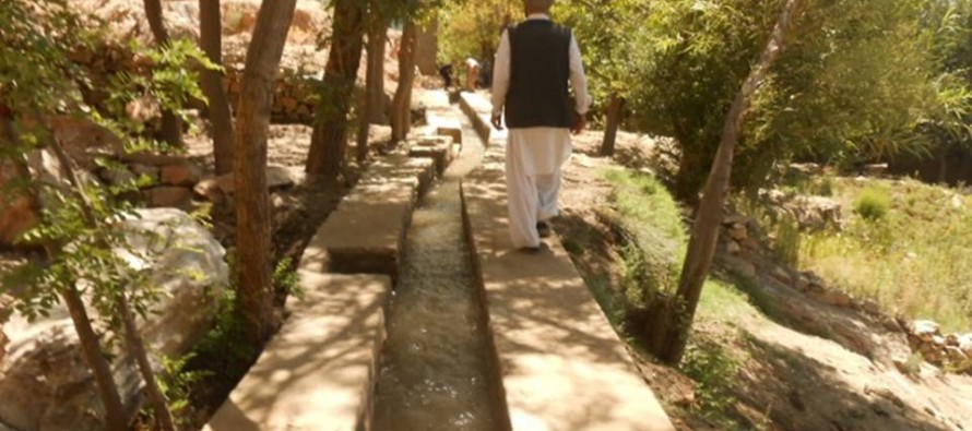 Development projects completed in Kapisa & Uruzgan