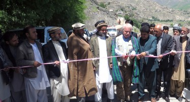 A main road in Badakhshan opens for traffic again