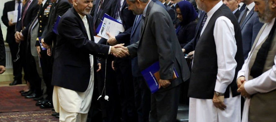 President Ghani emphasizes need for reform in mining industry