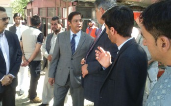 Indian Ambassador visits Indira Gandhi Institute of Child Health in Kabul