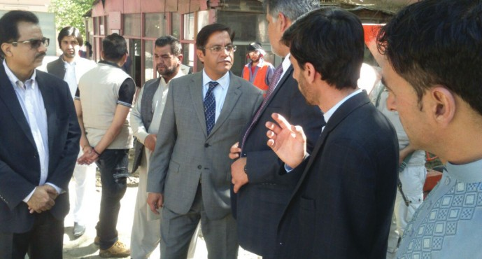 Indian Ambassador visits Indira Gandhi Institute of Child Health in Kabul