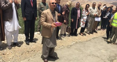 Construction of Bamiyan Cultural Center inaugurated a year after its design approval