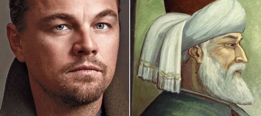 Leonardo DiCaprio to play the role of Jalaluddin Rumi | Wadsam