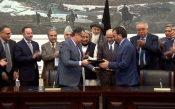 Afghan government signs power project worth $252mn with Bayat Power Company