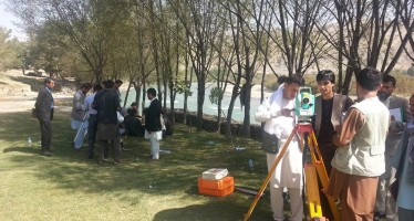 120 Afghan engineers complete seminar on construction survey methods & instruments