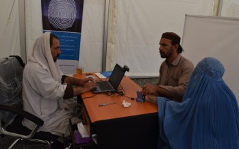 WFP provides emergency assistance to Afghanistan's returnees