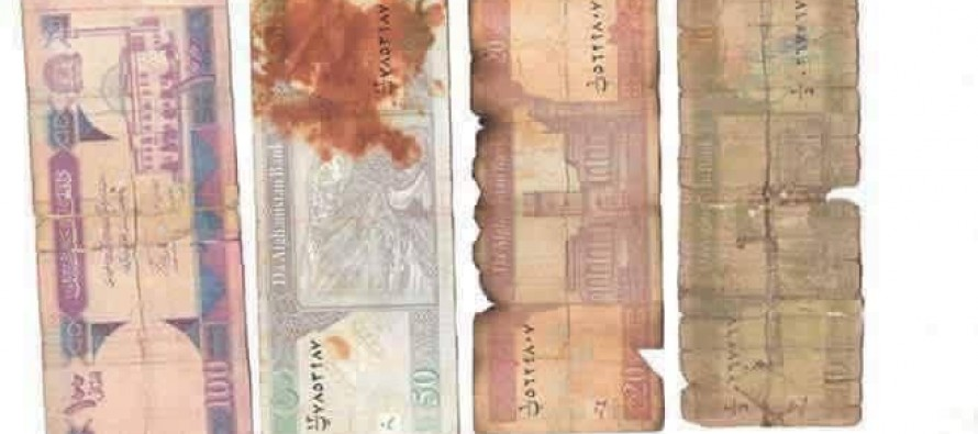 Afghanistan Central Bank calls for proper maintenance of bank notes
