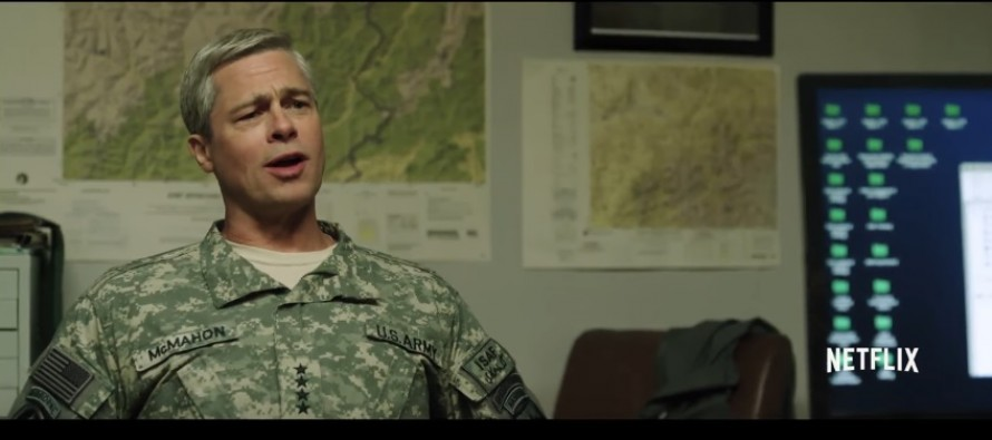Netflix to release a satire on war in Afghanistan starring Brad Pitt