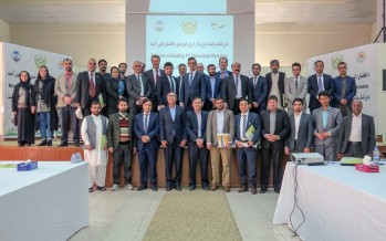 Survey presents business opportunities in Afghanistan's energy sector