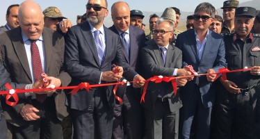 German funded Kunduz-Khum Highway project inaugurated