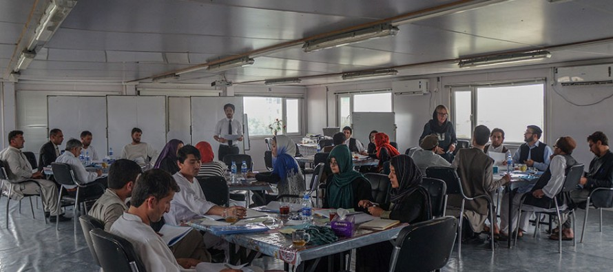 Gender and Human Rights Training for 20 Teacher Trainers in Balkh