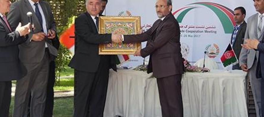 Afghanistan, Tajikistan sign trade agreements