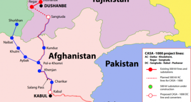 CASA-1000 To Supply Electricity to Afghanistan, Pakistan in 2 Years