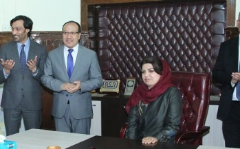 Leading Afghan female entrepreneur Kamela Sediqi appointed as Deputy Minister of Commerce