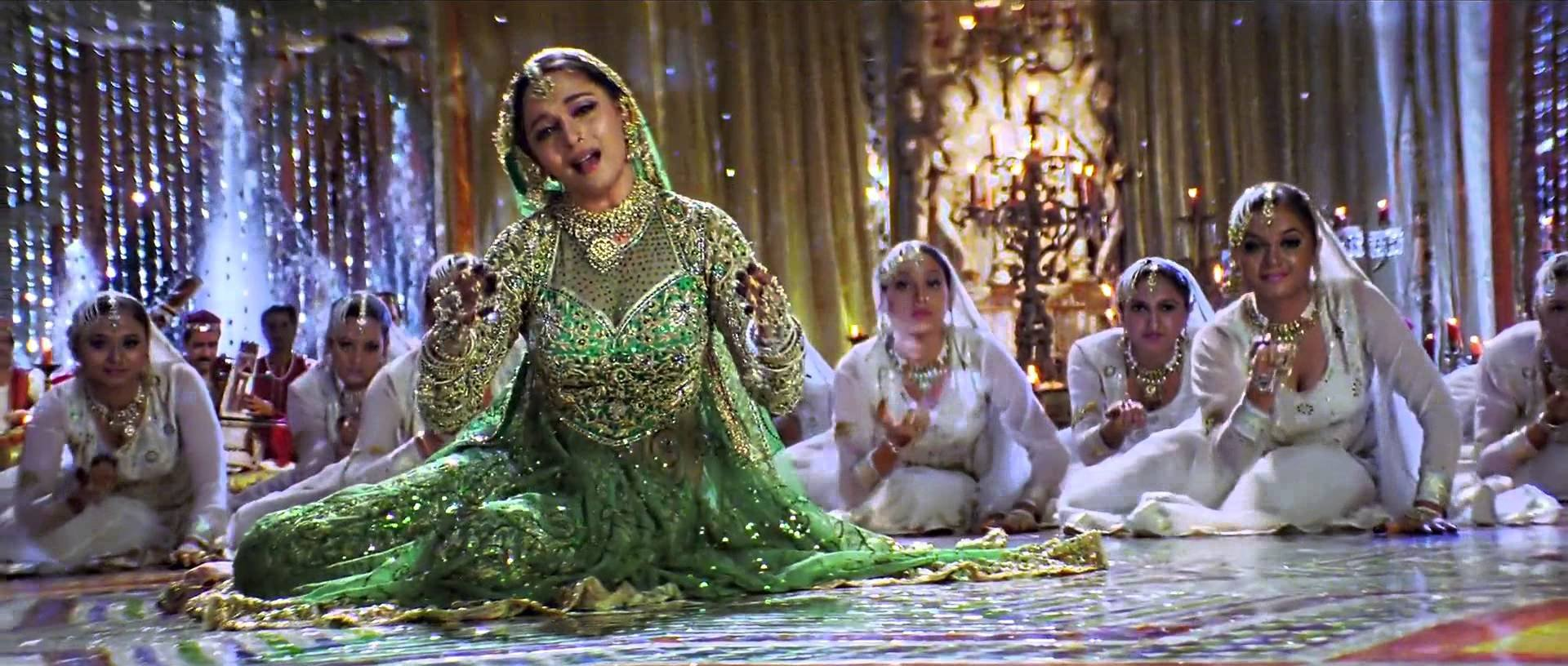 Madhuri Dixit's lehenga in the song, 'Maar Daala' from Devdas movie, was auctioned and the final bid was a whopping ₹ 3 crore.