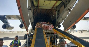 Afghanistan's second cargo flight to India takes off from Kandahar