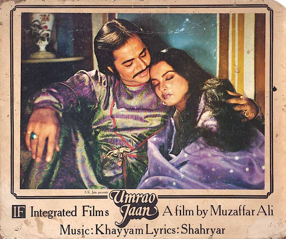 Farooq Sheikh's character in Umrao Jaan wore a turquoise ring set in silver. The ring was later auctioned for ₹ 96,000.