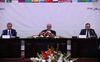 International community pledges continued political & financial support for Afghanistan