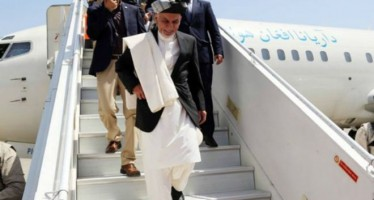 President Ghani heads to Turkmenistan