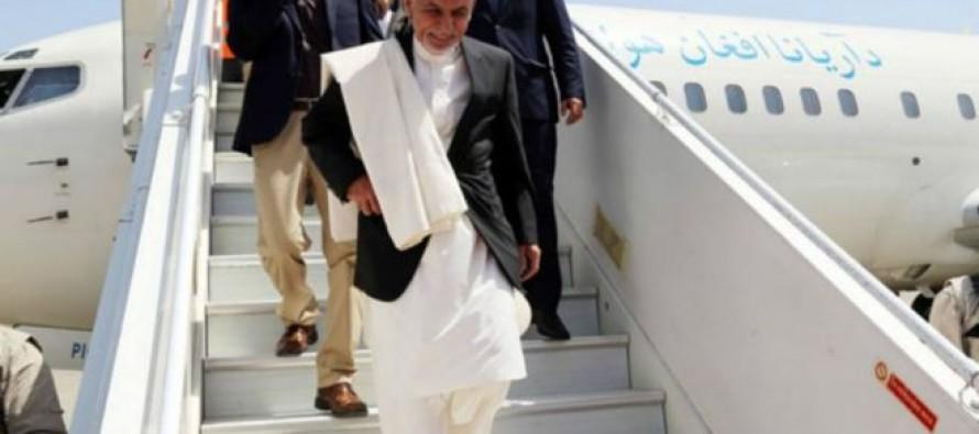 President Ghani heads to Turkmenistan