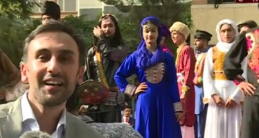 Afghan models display ethnic costumes at fashion show in Kabul