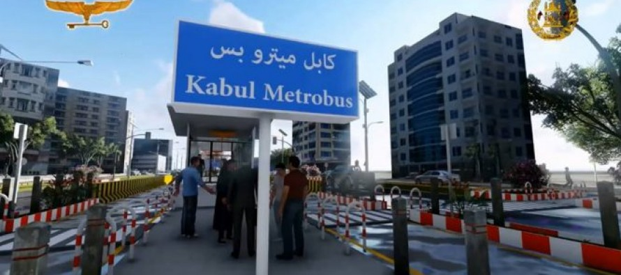 Kabul's metro bus service project to conclude in 1.5 years