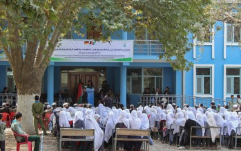 New education facilities in Takhar benefit almost 3,000 students