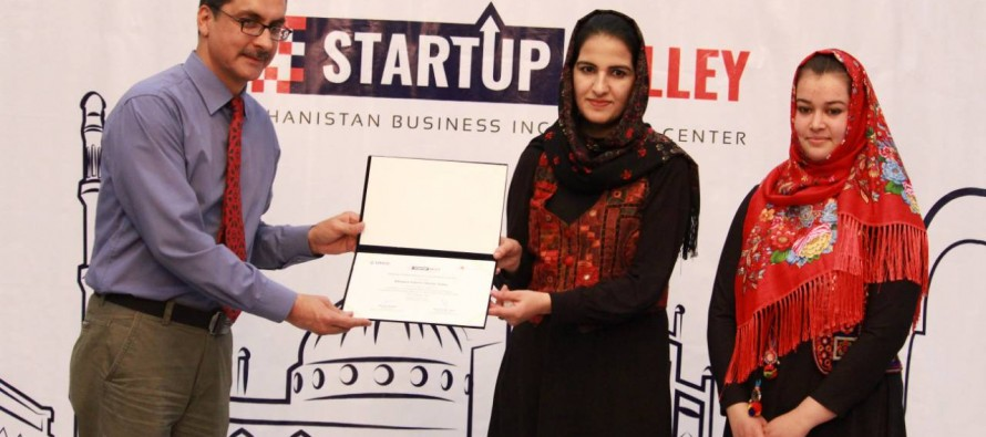 Female entrepreneurs graduate from Afghanistan's first private business incubator