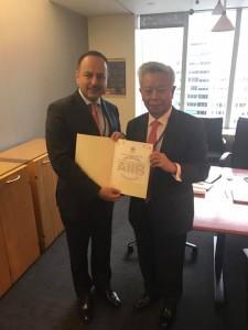 Afghanistan receives certificate of permanent membership to AIIB