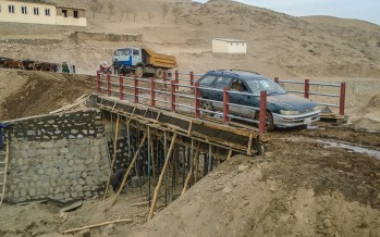 15,000 residents from development projects in Badakhshan