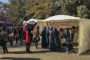 """""""Women Weekend Market"""" kicks off in Kabul University"""