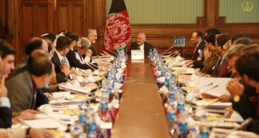 Afghan government approves  fiscal budget for year 1397