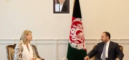 Afghan Finance Minister Meets With Norwegian Ambassador