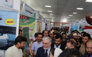 Kabul Expo Showcases Local Products